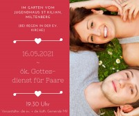 """""""Melodien unserer Liebe"""" - Gottesdienst für Paare"""