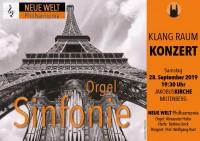 NEUE WELT Philharmonie – KLANG RAUM KONZERT
